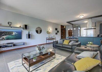 Shooting professionnel d'un livingroom
