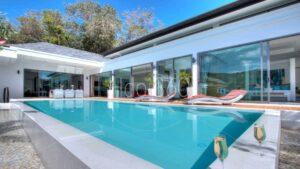 Photo piscine pour airbnb