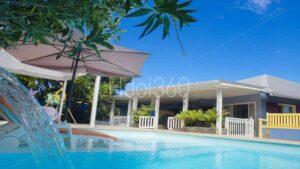 Photo piscine airbnb réunion