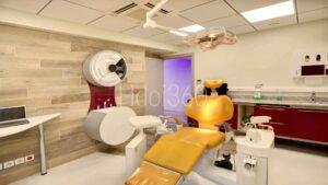 Photographie bloc opératoire orthodontiste