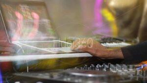 Photographie table de mixage DJ