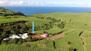 Photo aérienne de terrain à vendre