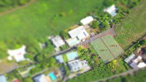 Photo aérienne de parcelle à vendre
