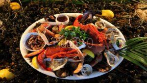 Assiette royale de la mer