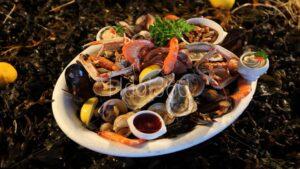 Assiette de la mer l'ecayeur