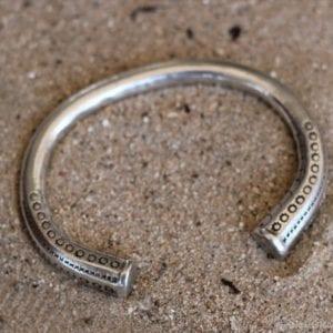 Photographie bracelet argent
